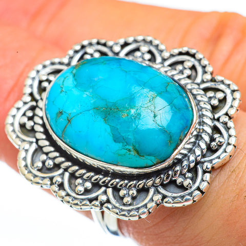 Arizona Turquoise Rings handcrafted by Ana Silver Co - RING45146