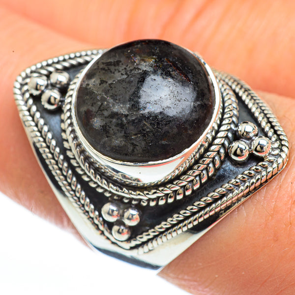 Astrophyllite Rings handcrafted by Ana Silver Co - RING45156