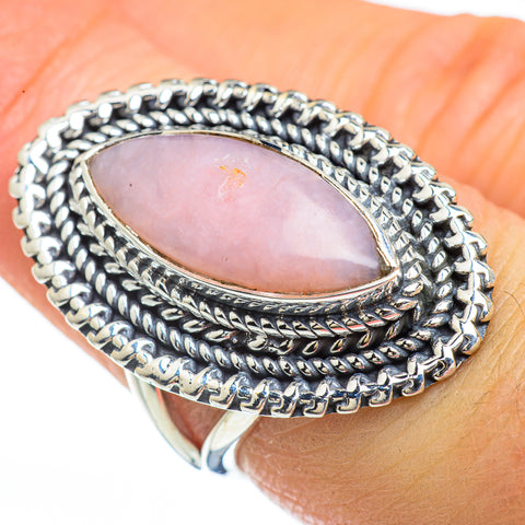 Pink Opal Rings handcrafted by Ana Silver Co - RING45188