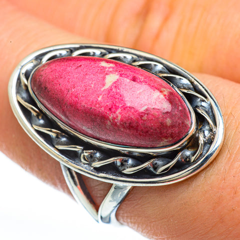 Thulite Rings handcrafted by Ana Silver Co - RING45189