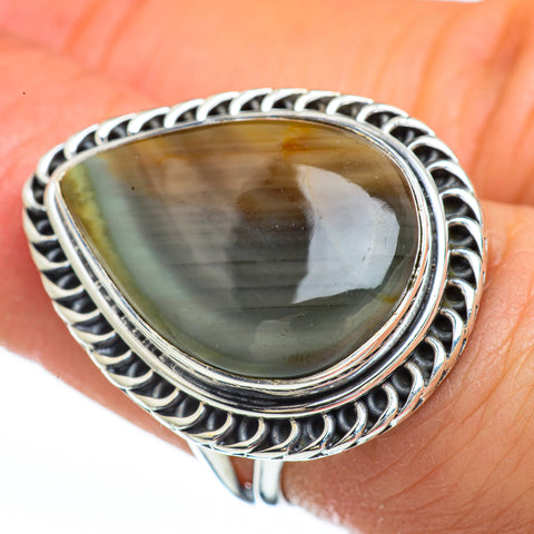 Willow Creek Jasper Rings handcrafted by Ana Silver Co - RING45316