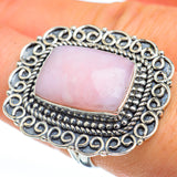 Pink Opal Rings handcrafted by Ana Silver Co - RING45391