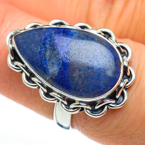 Sodalite Rings handcrafted by Ana Silver Co - RING45543