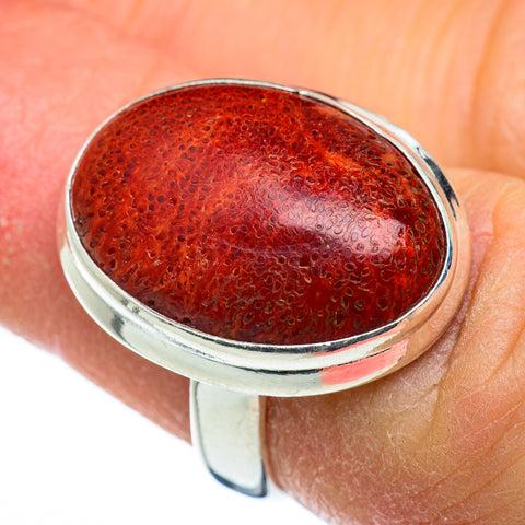 Sponge Coral Rings handcrafted by Ana Silver Co - RING45555