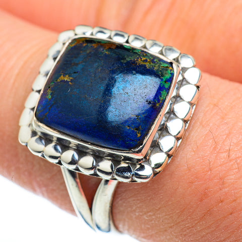 Azurite Rings handcrafted by Ana Silver Co - RING45598