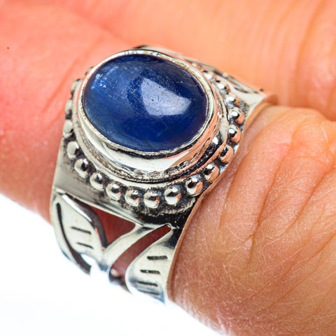 Kyanite Rings handcrafted by Ana Silver Co - RING45601
