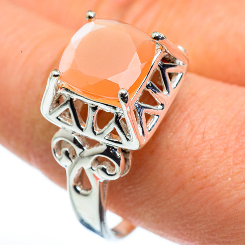 Carnelian Rings handcrafted by Ana Silver Co - RING45608