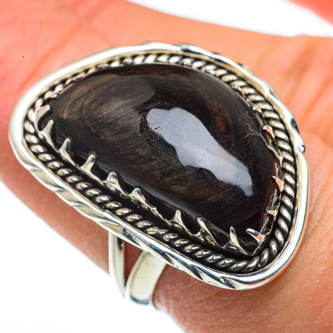 Black Onyx Rings handcrafted by Ana Silver Co - RING45632