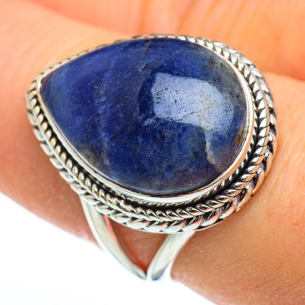 Sodalite Rings handcrafted by Ana Silver Co - RING45917