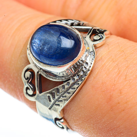 Kyanite Rings handcrafted by Ana Silver Co - RING45944