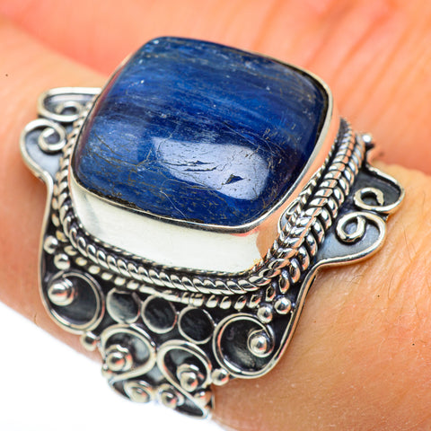 Kyanite Rings handcrafted by Ana Silver Co - RING46073