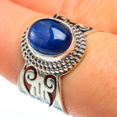 Kyanite Rings handcrafted by Ana Silver Co - RING46092