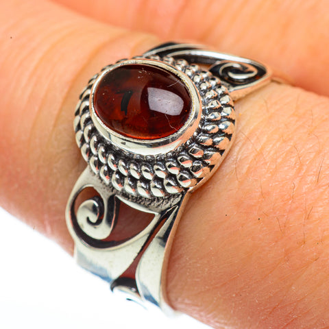 Baltic Amber Rings handcrafted by Ana Silver Co - RING46148