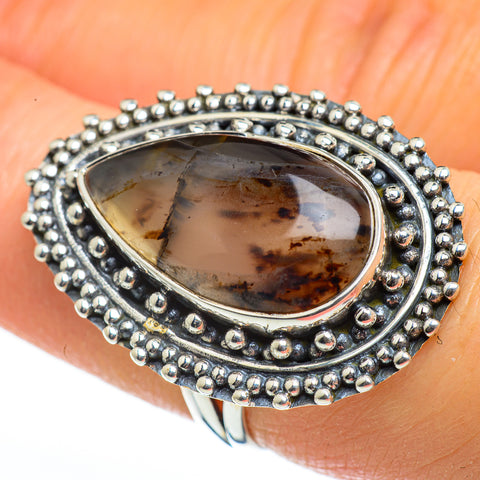 Montana Agate Rings handcrafted by Ana Silver Co - RING46185