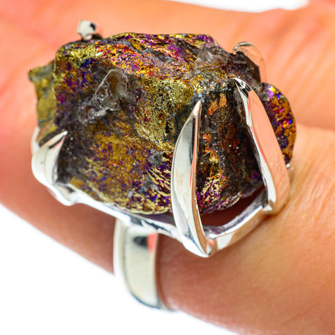 Titanium Druzy Rings handcrafted by Ana Silver Co - RING46288