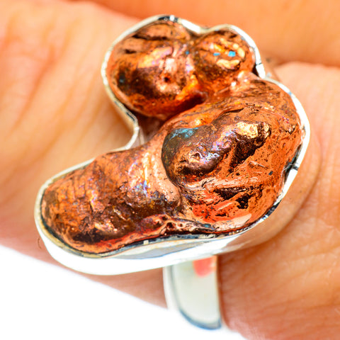 Splash Copper Rings handcrafted by Ana Silver Co - RING46308