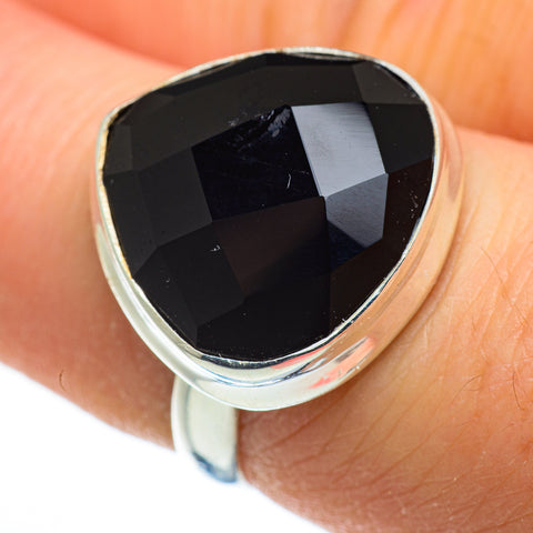 Black Onyx Rings handcrafted by Ana Silver Co - RING46311