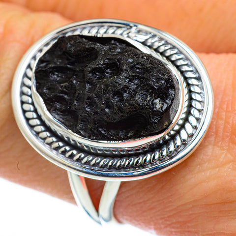 Tektite Rings handcrafted by Ana Silver Co - RING46371