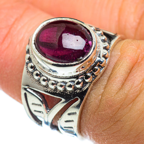 Garnet Rings handcrafted by Ana Silver Co - RING46481