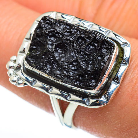 Tektite Rings handcrafted by Ana Silver Co - RING46485