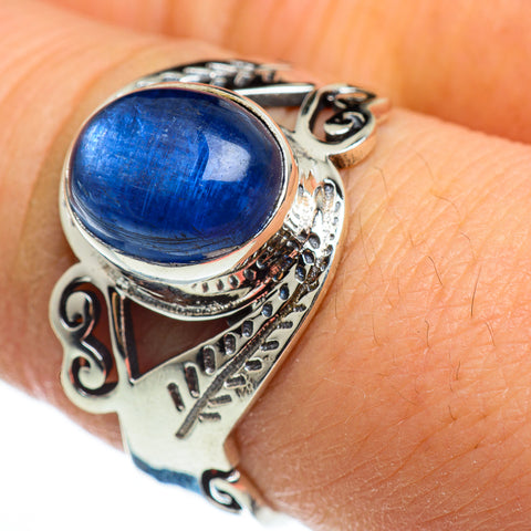 Kyanite Rings handcrafted by Ana Silver Co - RING46496