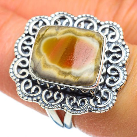 Willow Creek Jasper Rings handcrafted by Ana Silver Co - RING46504