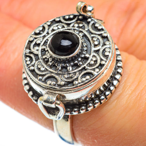 Black Onyx Rings handcrafted by Ana Silver Co - RING46577