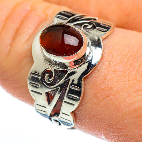 Garnet Rings handcrafted by Ana Silver Co - RING46593
