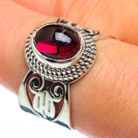 Garnet Rings handcrafted by Ana Silver Co - RING46741