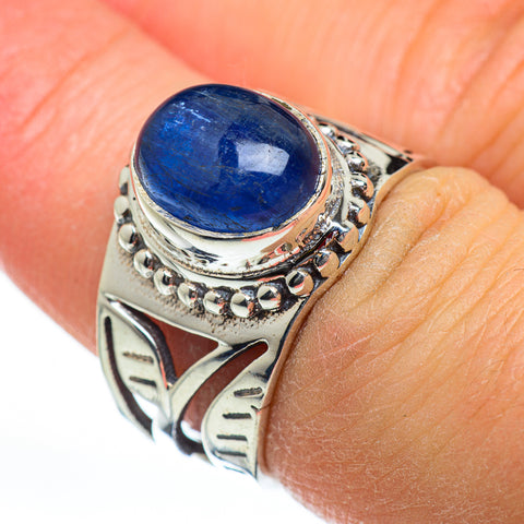 Kyanite Rings handcrafted by Ana Silver Co - RING46759