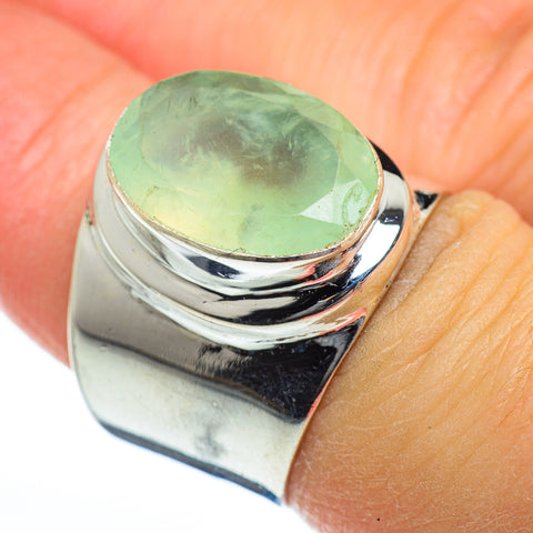 Prehnite Rings handcrafted by Ana Silver Co - RING46762