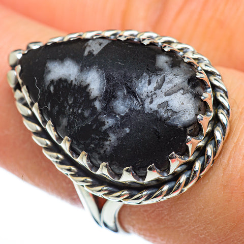 Pinolith Jasper Rings handcrafted by Ana Silver Co - RING46777