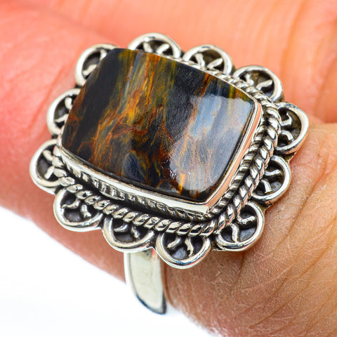 Pietersite Rings handcrafted by Ana Silver Co - RING46857