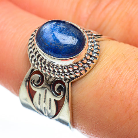 Kyanite Rings handcrafted by Ana Silver Co - RING46913