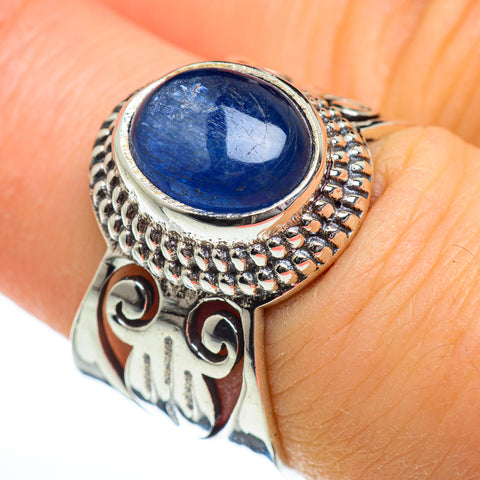 Kyanite Rings handcrafted by Ana Silver Co - RING47016