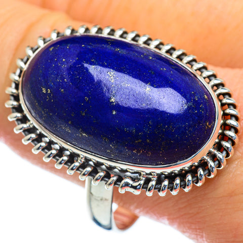 Lapis Lazuli Rings handcrafted by Ana Silver Co - RING47126