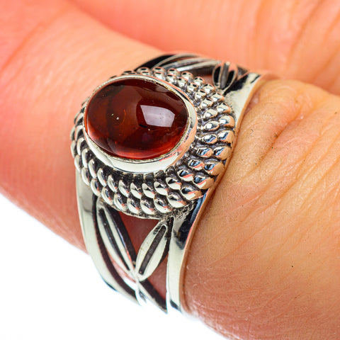 Baltic Amber Rings handcrafted by Ana Silver Co - RING47219