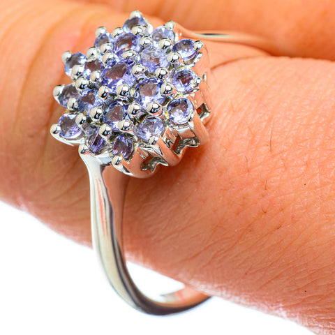 Tanzanite Rings handcrafted by Ana Silver Co - RING47315