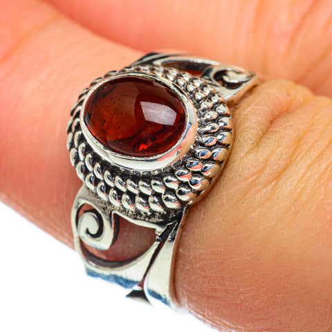Baltic Amber Rings handcrafted by Ana Silver Co - RING47442