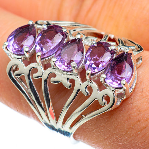 Amethyst Rings handcrafted by Ana Silver Co - RING47513