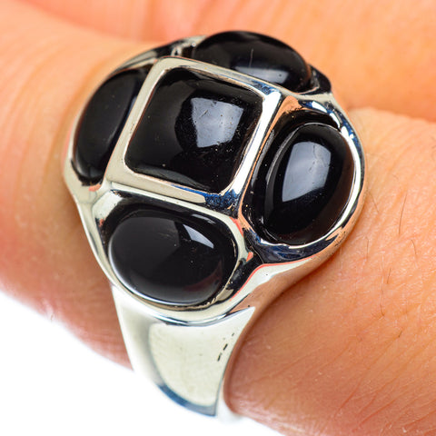 Black Onyx Rings handcrafted by Ana Silver Co - RING47613