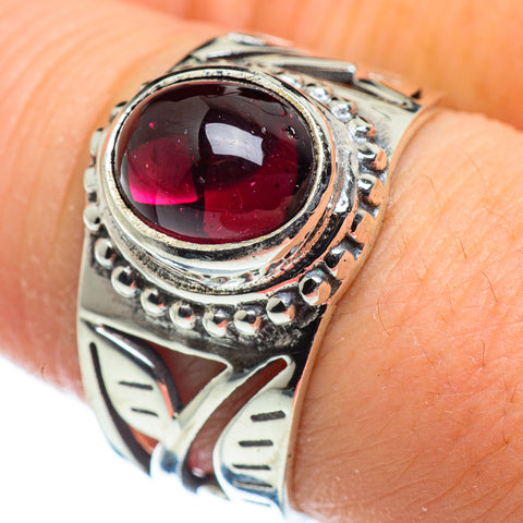 Garnet Rings handcrafted by Ana Silver Co - RING47638