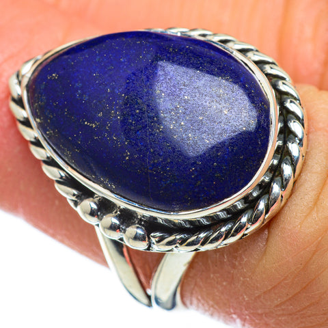 Lapis Lazuli Rings handcrafted by Ana Silver Co - RING47656