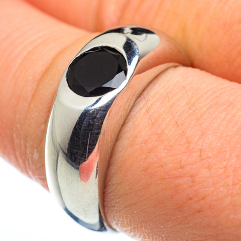 Black Onyx Rings handcrafted by Ana Silver Co - RING47671