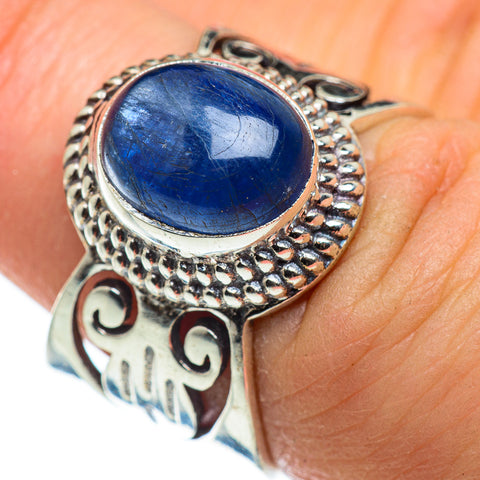 Kyanite Rings handcrafted by Ana Silver Co - RING47706