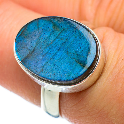 Labradorite Rings handcrafted by Ana Silver Co - RING47712
