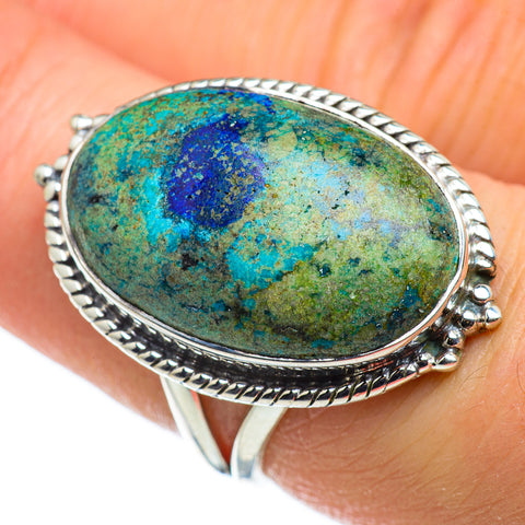 Azurite Rings handcrafted by Ana Silver Co - RING47733