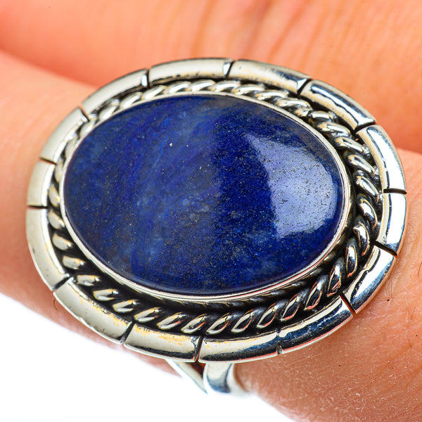 Sodalite Rings handcrafted by Ana Silver Co - RING47853
