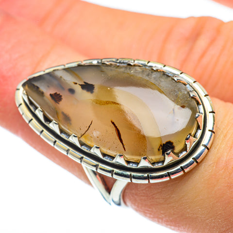 Montana Agate Rings handcrafted by Ana Silver Co - RING47862