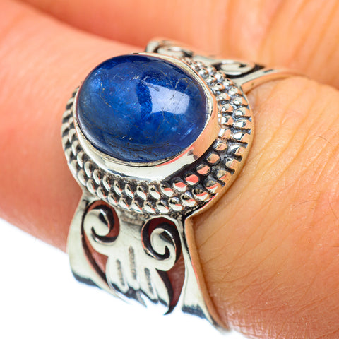 Kyanite Rings handcrafted by Ana Silver Co - RING47893